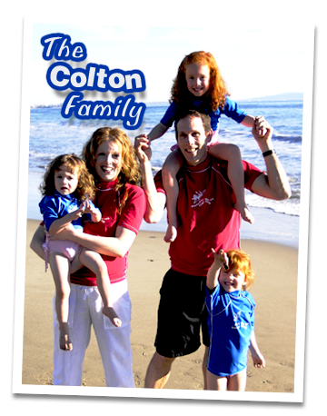 Fitness by the Sea The Colton Family