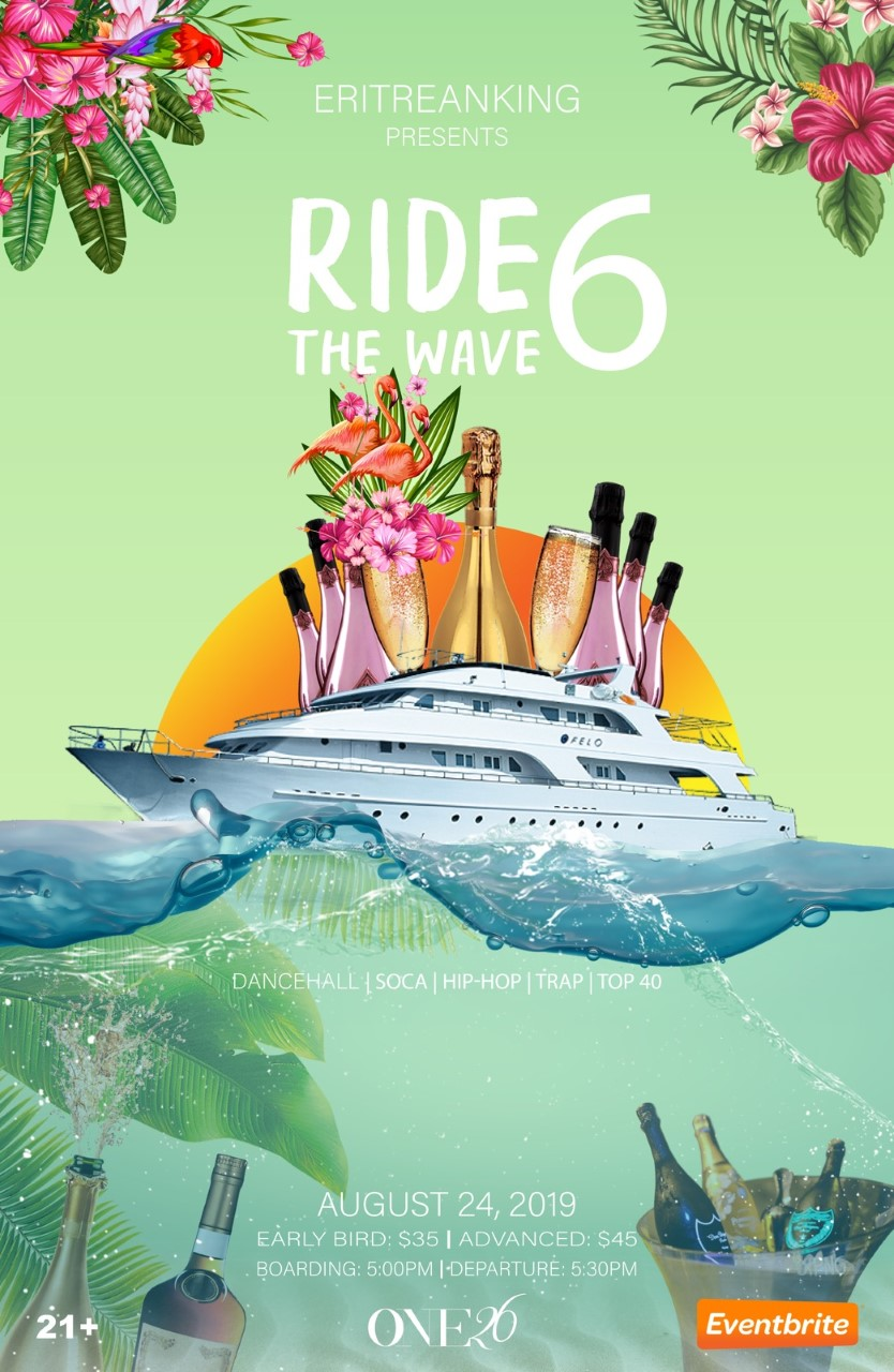 Ride The Wave 6 Flyer