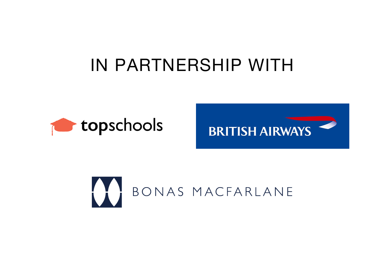 Partners British Airways, Top Schools, Bonas MacFarlane