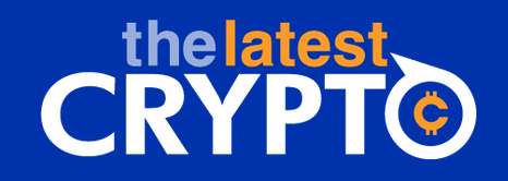 The Latest Crypto Logo (blue)