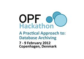 OPF Hackathon: A Practical Approach to Database Archiving