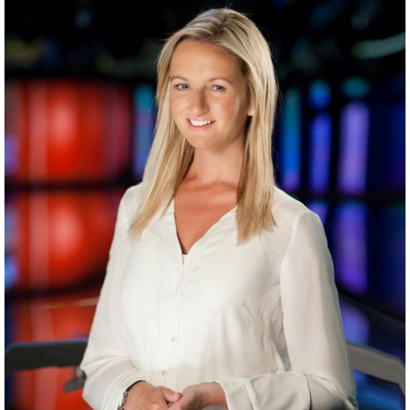 Sky News Reporter Angela Barnes