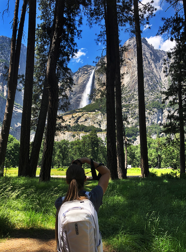 photographing yosemite falls