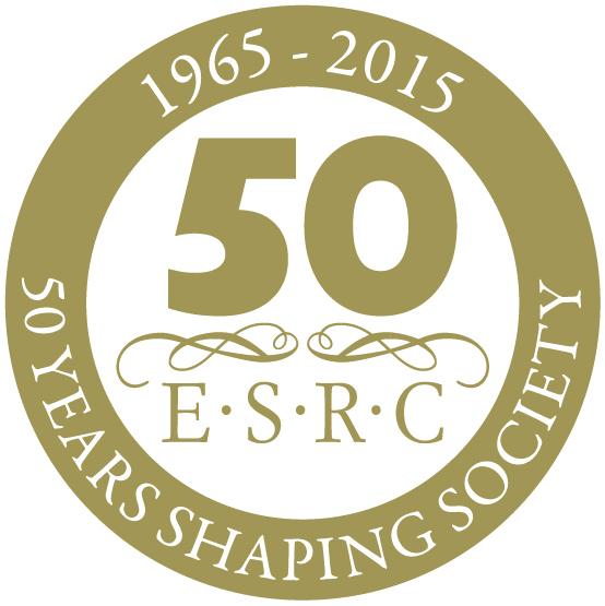 ESRC 50th Anniversary Logo