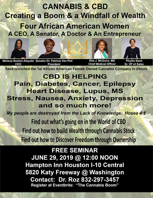 The 1st Female African American Owned Cannabis Co. in the Midwest