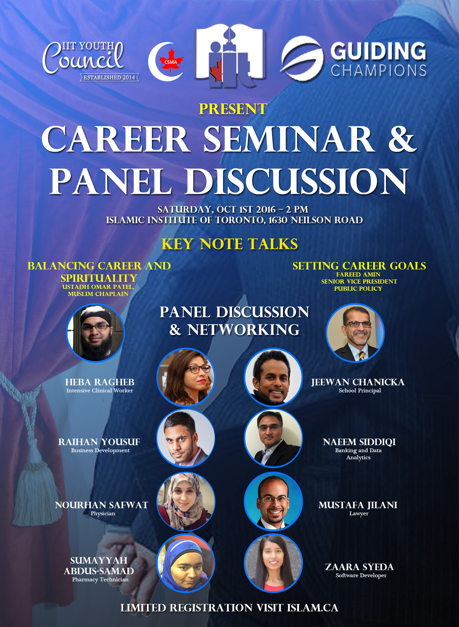 Career Seminar & Panel Discussion 2016