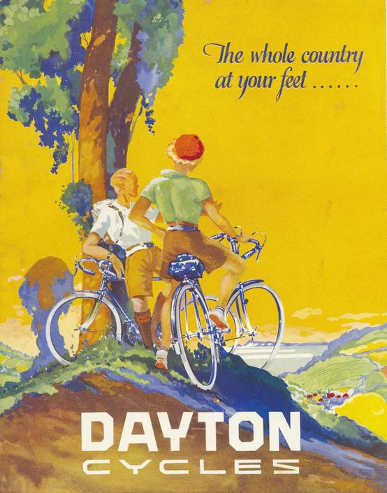 Dayton 1950's poster