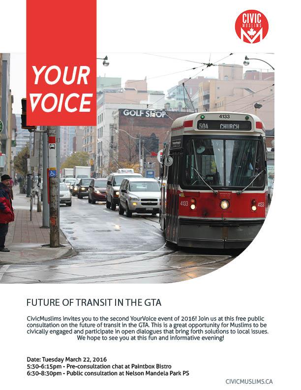 YourVoice Transit Poster