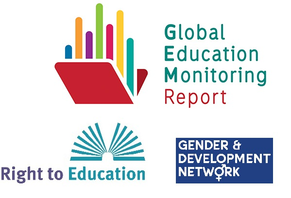 GEMR, Right to Education and  Gender & Development logos