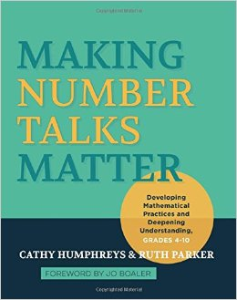 Making Number Talks Matter book