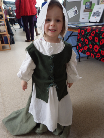 Dressing up in C17th costume