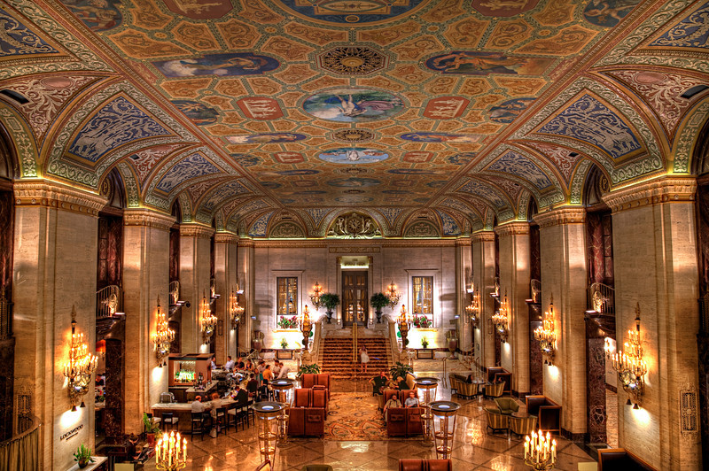 Palmer House Hotel lobby