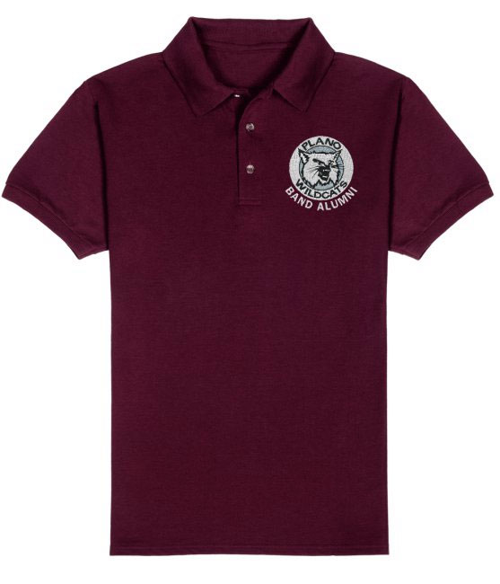 Official Plano Band Alumni polo shirt