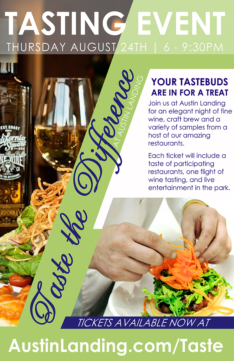 taste the difference at austin landing tickets thu aug 24 2017