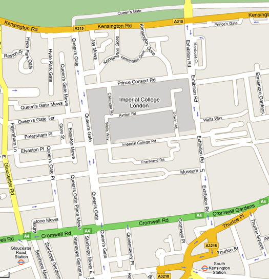 street location map