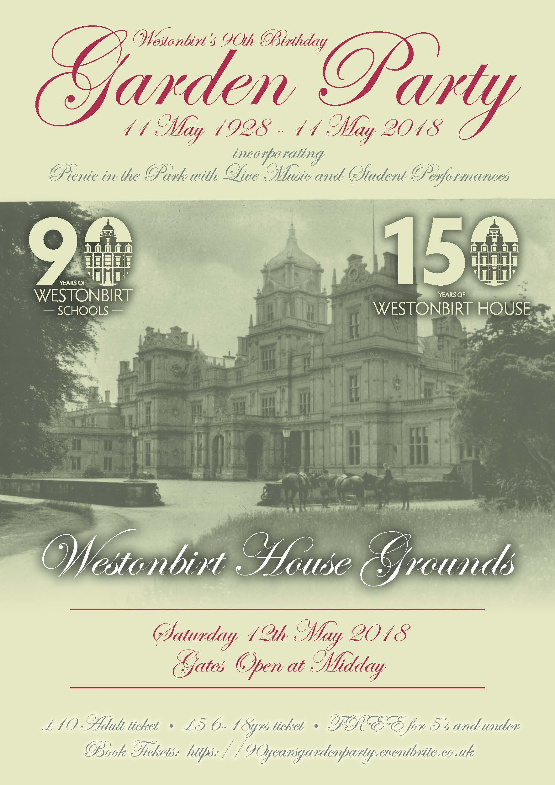 90th Year Garden Party