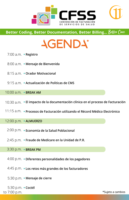 Agenda Español