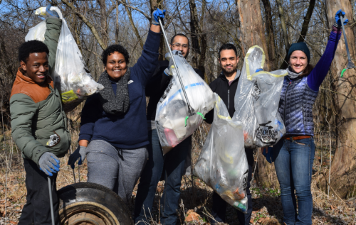 Potomac Conservancy Fall Volunteers
