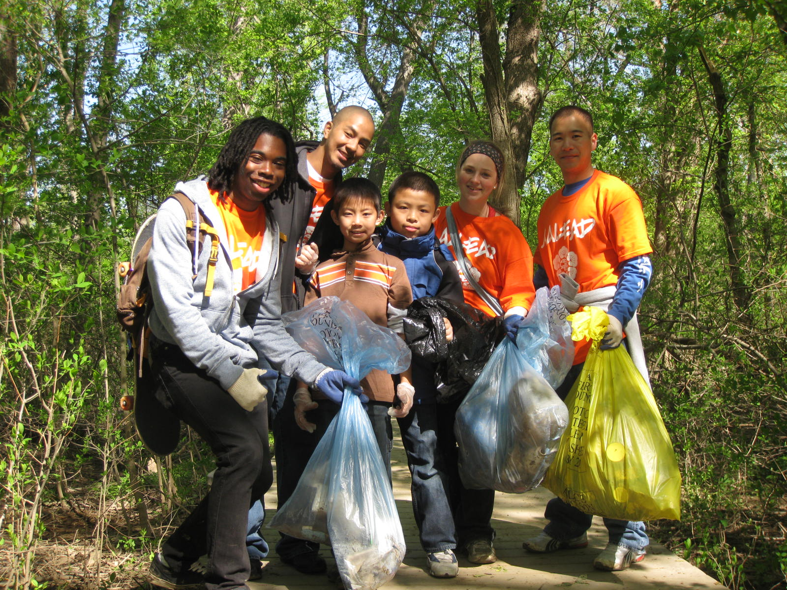 Theodore Roosevelt Island Volunteers