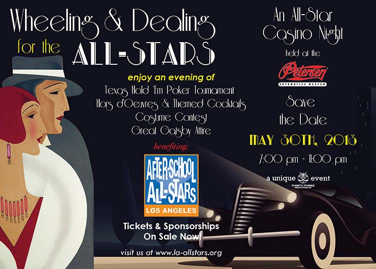 Wheeling & Dealing for the After-School All-Stars