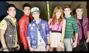 IM5 pictured with Disney's Bella Thorne