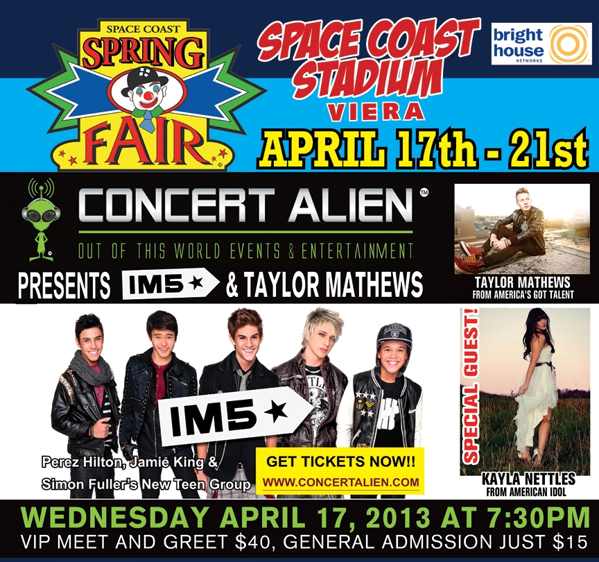 Space Coast Spring Fair Concert