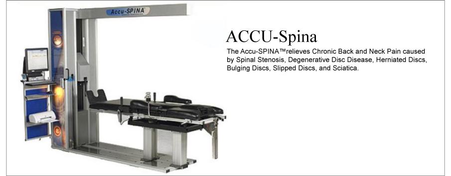 ACCU-SPINA MACHINE