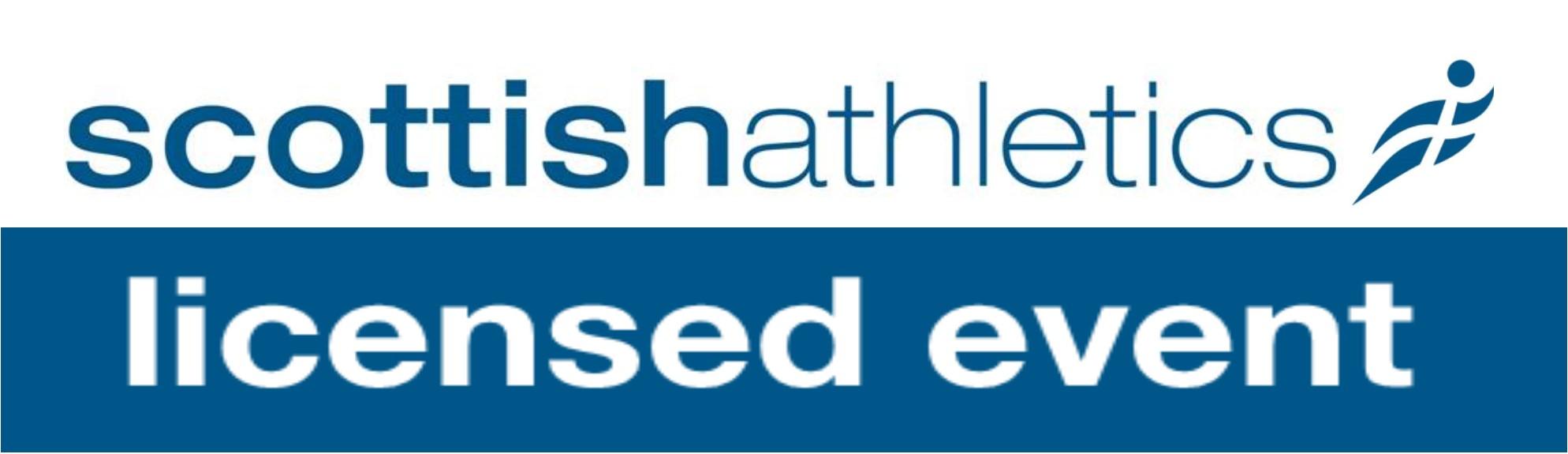 Licensed by Scottish Athletics Association