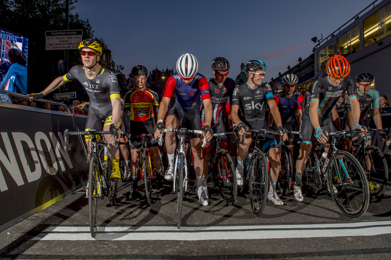 Olympic and Tour de France Champions race the Nocturne