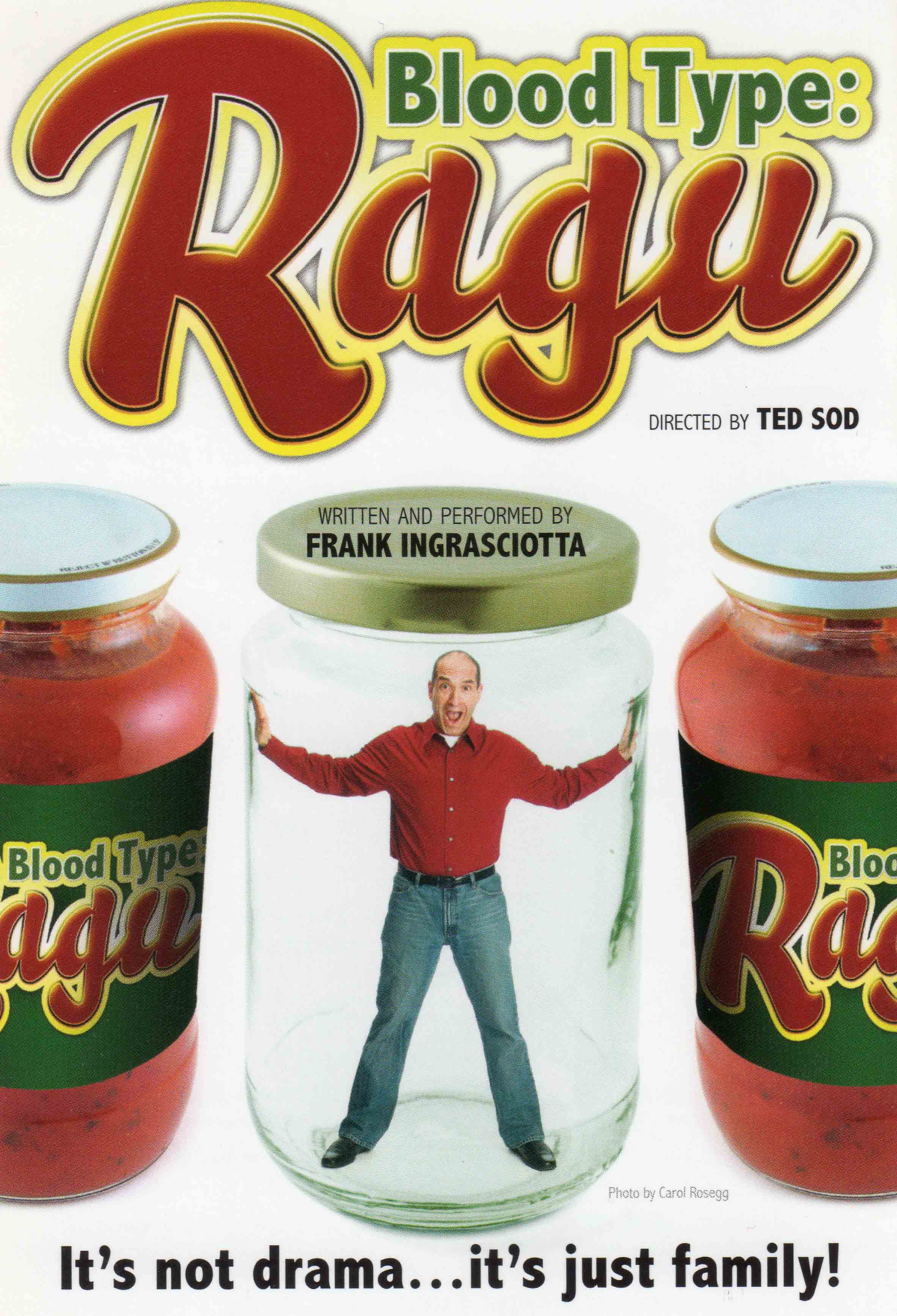 Blood Type: Ragu Flyer