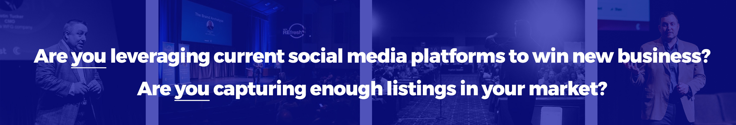 Are you leveraging current social media platforms to win new business?   Are you capturing enough listings in your market place?