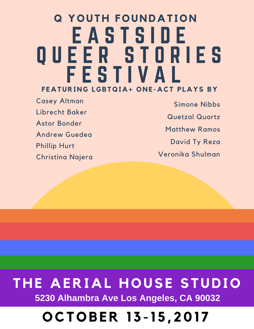 Eastside Queer Stories Flyer