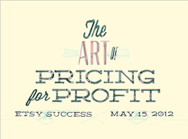 Etsy Success: The Art of Pricing for Profit Workshop