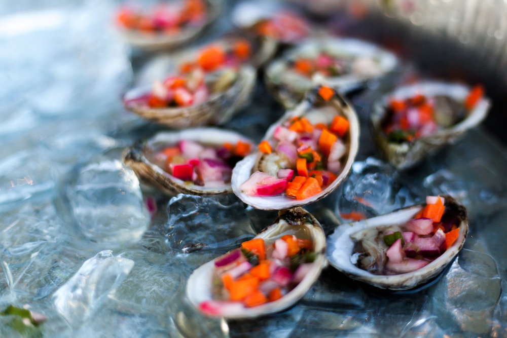 Tasty oysters