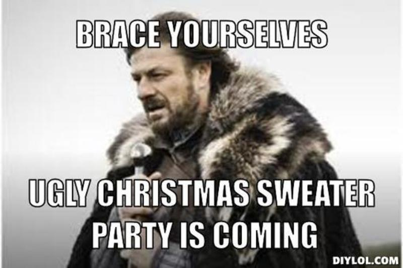 Funny Ugly Sweater Meme : Startupmind s ugly christmas sweater party at seasons