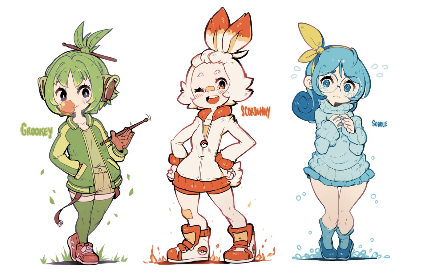 Gijinka Pokemon