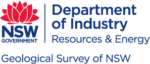 New South Wales Department of Industry, Division of Resources and Energy, Geological Survey of New South Wales logo