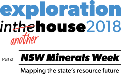 Exploration in the House Minerals Week 2018 logo