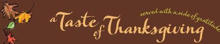 a Taste of Thanksgiving Logo