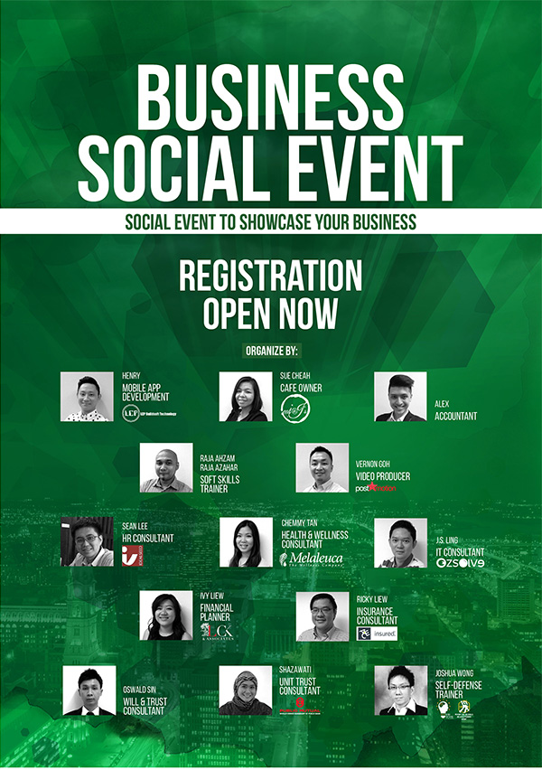 Business social event