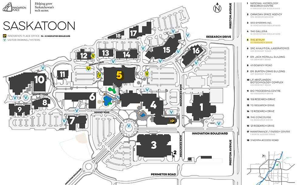 Innovation Place Map