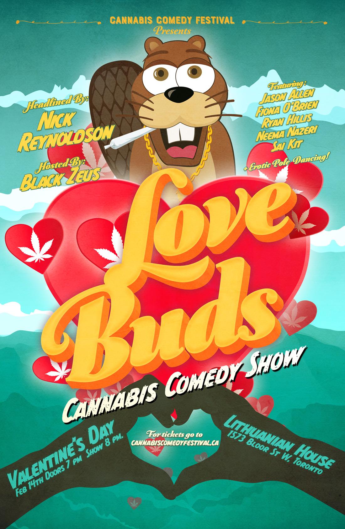Toronto Valentines Day Cannabis Comedy Show
