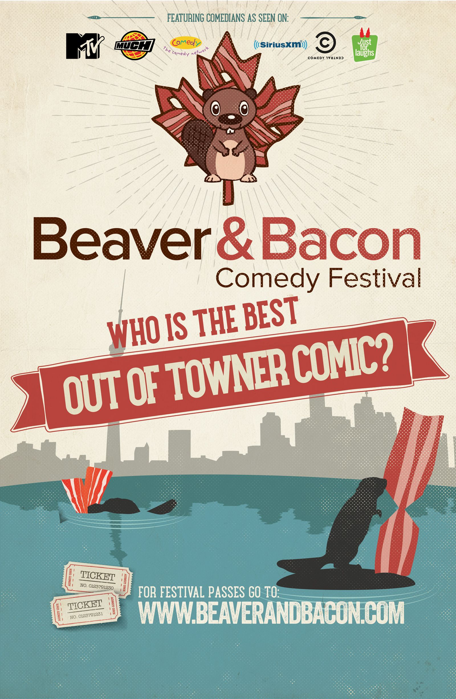 Beaver and Bacon