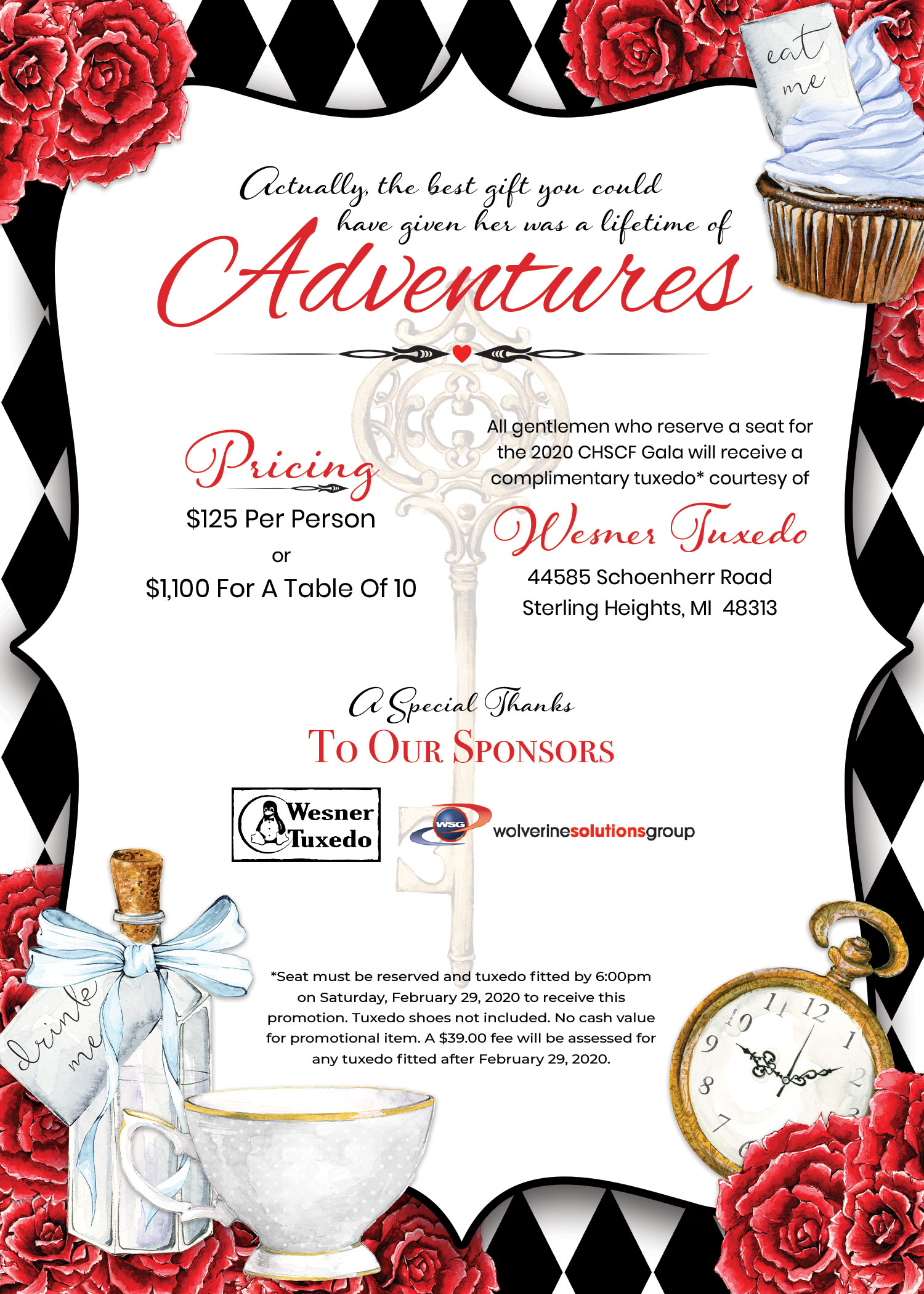 CHSFC 7th Annual Gala Invitation