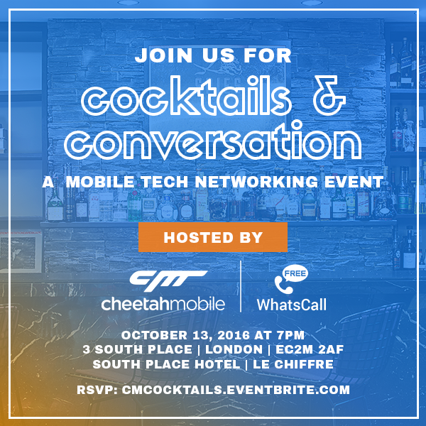 Cocktails and Conversation by Cheetah Mobile