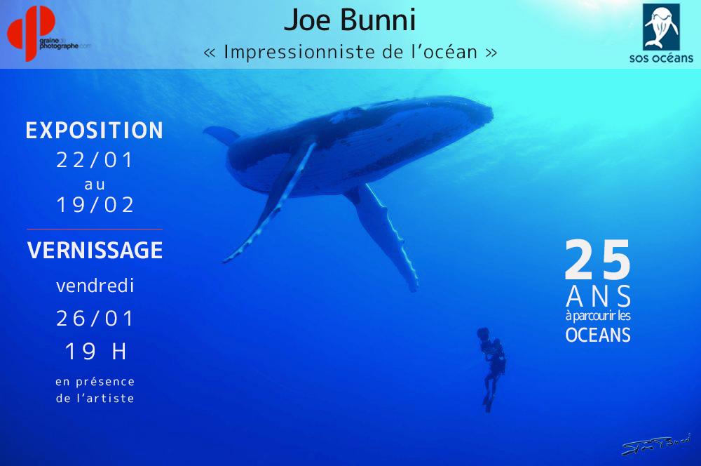 Vernissage de l'exposition - Joe Bunni, 25 ans à parcourir les océans...