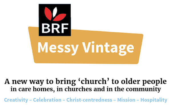 Messy Church Vintage Header