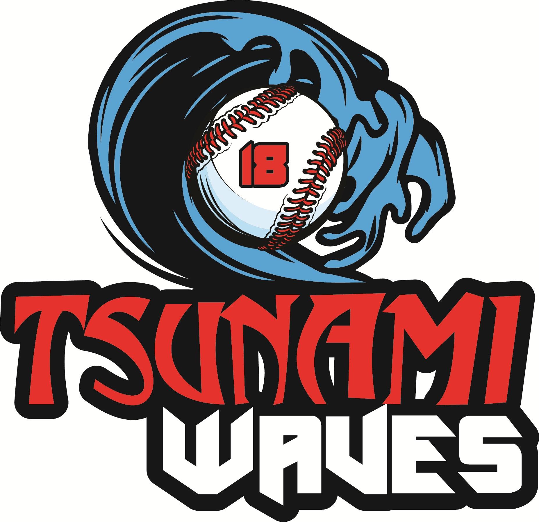 Tsunami Waves Logo