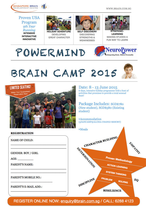 SBDC PowerMind BrainCamp 2015