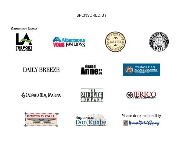 Taste of San Pedro Sponsors